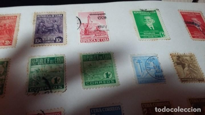 Sellos: 33, CUBA Y REPUBLICA DE CUBA CIRCULADOS Y SIN CIRCULAR, - Foto 9 - 181148078