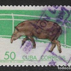 Sellos: CUBA. YVERT Nº 780B USADO Y DEFECTUOSO. Lote 182092316