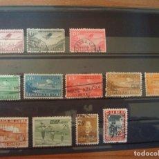 Sellos: CUBA-12 SELLOS DIFERENTES-CORREO AEREO. Lote 182108641