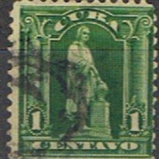Sellos: (CU 33) CUBA // YVERT 142 // 1899-02. Lote 182215595