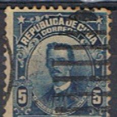 Sellos: (CU 45) CUBA // YVERT 163 // 1911-12. Lote 182319987
