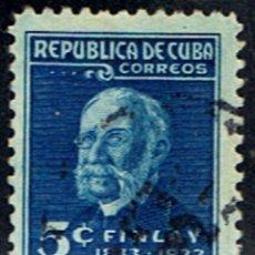Sellos: (CU 61) CUBA // YVERT 220 // 1934. Lote 182713516