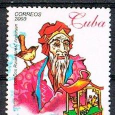 Sellos: CUBA Nº 4309, CUENTIO INFANTILES DE LA EDAD DE ORO POR JOSE MARTI, USADO. Lote 184796942