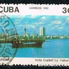 Sellos: CUBA 3611,VISTA DE LA CIUDAD DE LA HABAN, USADO. Lote 184850685