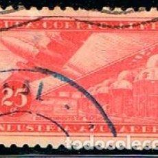 Sellos: CUBA Nº 448, CENTENARIO DEL SELLO CUBANO, USADO. Lote 185741350