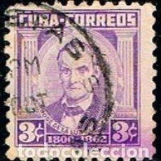 Sellos: CUBA Nº 413, JOSÉ DE LA LUZ CABALLERO, FILOSOFO Y EDUCADOR, USADO. Lote 185741921