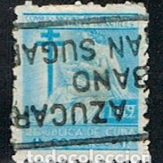 Sellos: CUBA, PRO TUBERCULOSOS 1949, USADO. Lote 186235918