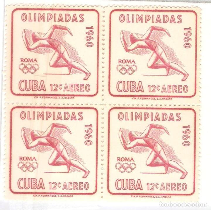 CARIBE 1960,BLOQUE 4,CAT.MI 672,NUEVOS,G.ORIGINAL,SIN FIJASELLOS (Sellos - Extranjero - América - Cuba)