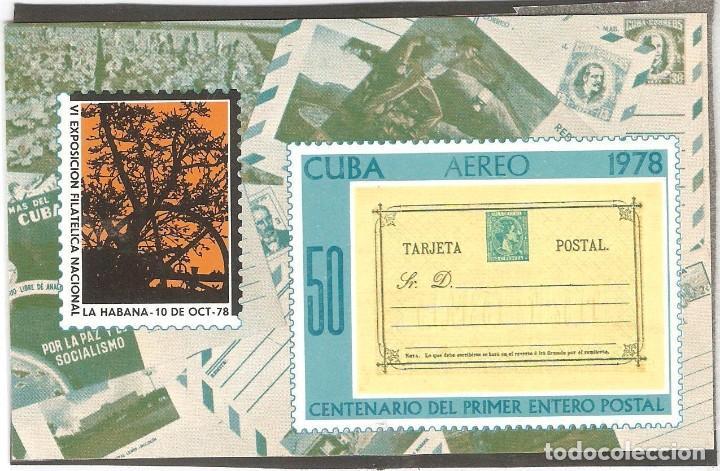 CUBA,1978,CAT.MI BL.57,NUEVA,GOMA ORIGINAL,SIN FIJASELLOS. (Sellos - Extranjero - América - Cuba)
