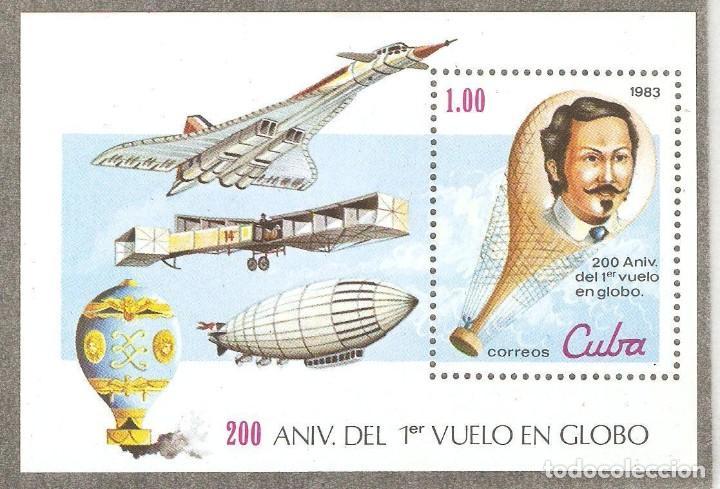 CUBA,1983,CAT.MI BL.76,NUEVA,GOMA ORIGINAL,SIN FIJASELLOS. (Sellos - Extranjero - América - Cuba)