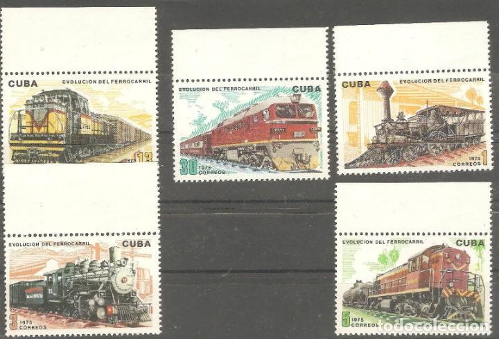 CUBA, 1975,G.ORIGINAL,SIN FIJASELLOS,NUEVOS,YET1880/84,BORDE HOJA. (Sellos - Extranjero - América - Cuba)
