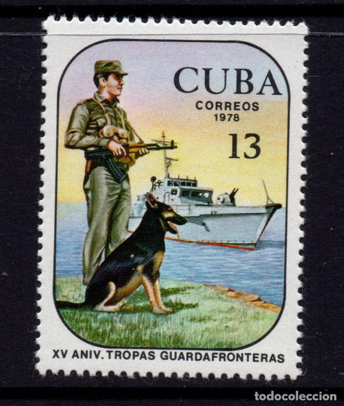 CUBA 2045** - AÑO 1978 - 20º ANIVERSARI DE LAS TROPAS DE FRONTERAS (Sellos - Extranjero - América - Cuba)