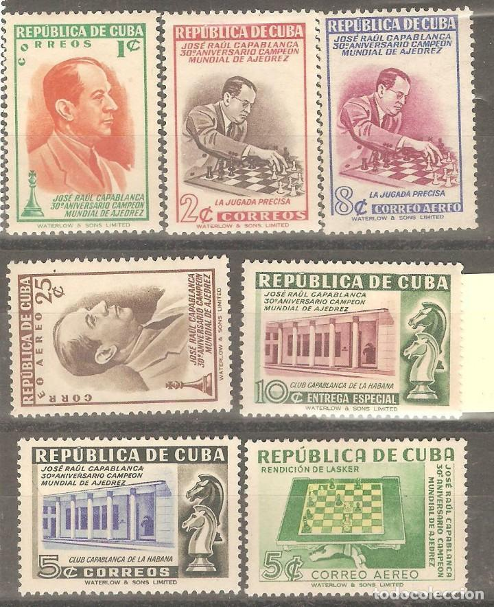 CUBA, 1951,CAT.MI. 294 A 299, NUEVOS, GOMA ORIGINAL, SIN FIJASELLOS. (Sellos - Extranjero - América - Cuba)