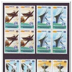 Selos: 2010.20 CUBA MNH 2010 COMPLETE SET ERNEST HEMINGWAY FISHING. BLOQUE 4. PESCA DE LA AGUJA. MARLIN. Lote 187551021
