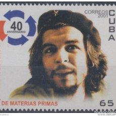 Francobolli: 2001.17- * CUBA 2001. MNH. MATERIA PRIMA. ERNESTO CHE GUEVARA.. Lote 187647797