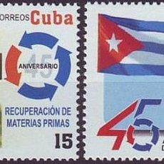 Francobolli: 2006.21 CUBA MNH 2006. 45 ANIV RECUPERACION MATERIAL PRIMAS. ERNESTO CHE GUEVARA.. Lote 187649240