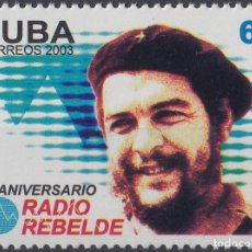 Francobolli: 2003.142 CUBA MNH 2003. 45 ANIV RADIO REBELDE ERNESTO CHE GUEVARA. Lote 187649360