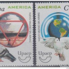 Sellos: 1999.9- * CUBA 1999. MNH. AMERICA UPAEP. PALOMA DE LA PAZ. PIGUEON OF PEACE.. Lote 234972830