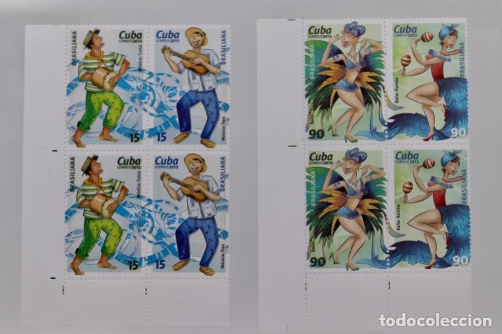 BAILES, DANZA, BRASIL RUMBA, SAMBA 2013 (Sellos - Extranjero - América - Cuba)