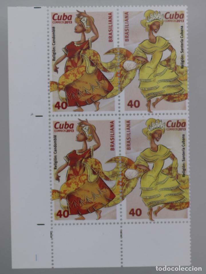 Sellos: SANTERIA CUBANA, RELIGIÓN CADOMBÍE 2013 - Foto 2 - 189149341