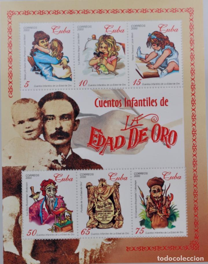 CUENTOS INFANTILES DE LA EDAD DE ORO, 2000 MNH (Sellos - Extranjero - América - Cuba)