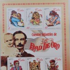 Sellos: CUENTOS INFANTILES DE LA EDAD DE ORO, 2000 MNH. Lote 189169440