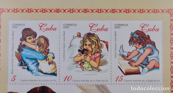 Sellos: CUENTOS INFANTILES DE LA EDAD DE ORO, 2000 MNH - Foto 2 - 189169440