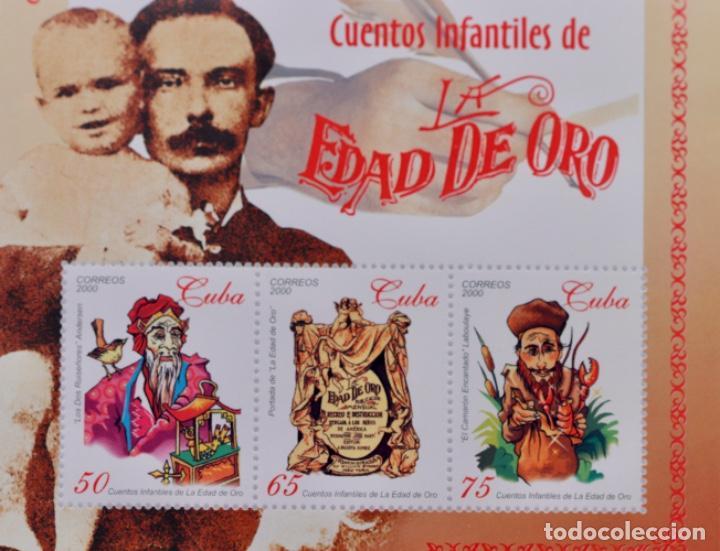 Sellos: CUENTOS INFANTILES DE LA EDAD DE ORO, 2000 MNH - Foto 3 - 189169440