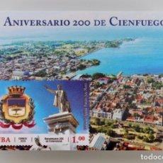Sellos: CIENFUEGOS , CUBA 2019, MNH. Lote 189354566
