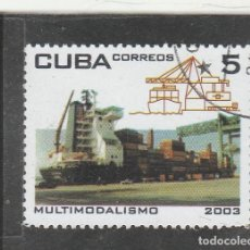 Sellos: CUBA 2003 - MULTIMODALISMO - USADO. Lote 189923083