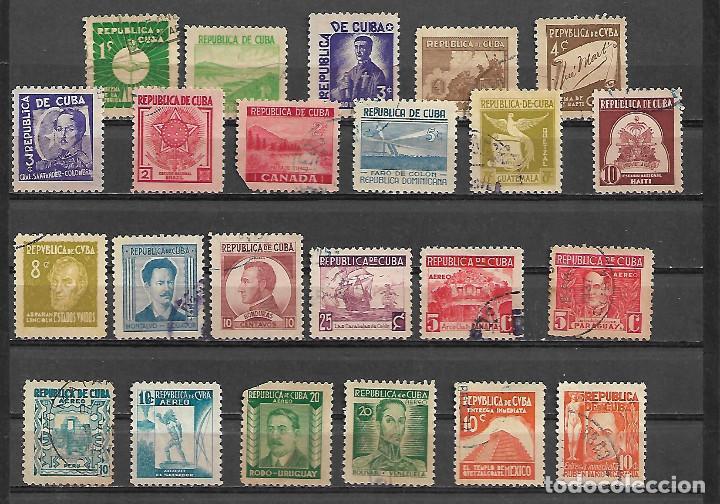 CUBA 1937 LA SERIE COMPLETA MAS IMPORTANTE CIRCULADA ALTISIMO VALOR DE CATALOGO (Sellos - Extranjero - América - Cuba)