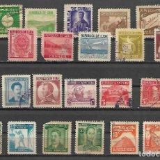 Sellos: CUBA 1937 LA SERIE COMPLETA MAS IMPORTANTE CIRCULADA ALTISIMO VALOR DE CATALOGO. Lote 190119892