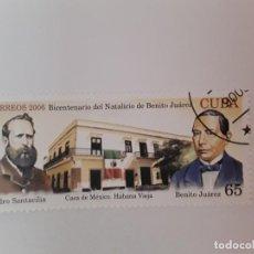 Sellos: CUBA SELLO USADO. Lote 190446776