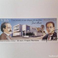Sellos: CUBA SELLO USADO. Lote 190446876