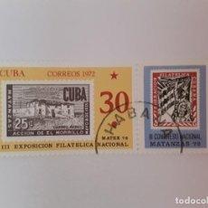 Sellos: CUBA SELLO USADO. Lote 190446948