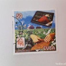 Sellos: CUBA SELLO USADO . Lote 190447527