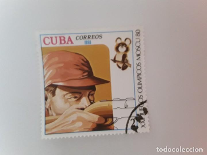 CUBA SELLO USADO (Sellos - Extranjero - América - Cuba)