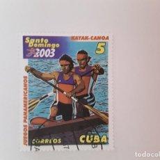 Sellos: CUBA SELLO USADO. Lote 190447681