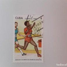 Sellos: CUBA SELLO USADO. Lote 190447790