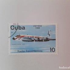 Sellos: CUBA SELLO USADO. Lote 190447848