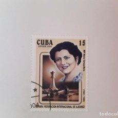 Sellos: CUBA SELLO USADO. Lote 190448032