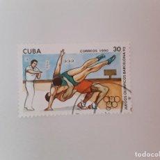 Sellos: CUBA SELLO USADO. Lote 190448163