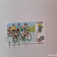 Sellos: CUBA SELLO USADO. Lote 190448297