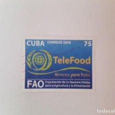 Sellos: CUBA SELLO USADO. Lote 190448337