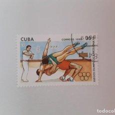 Sellos: CUBA SELLO USADO. Lote 190448420