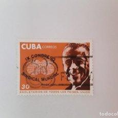 Sellos: CUBA SELLO USADO. Lote 190448630