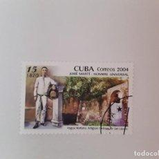 Sellos: CUBA SELLO USADO. Lote 190448838