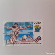 Sellos: CUBA SELLO USADO. Lote 190449551