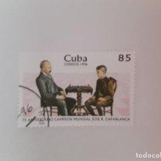Sellos: CUBA SELLO USADO. Lote 190450465