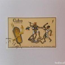 Sellos: CUBA SELLO USADO. Lote 190450616